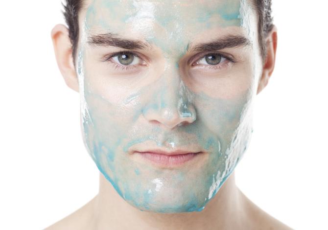Facial facial para hombres