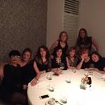 Gabinete de Medicina Estética de cena con las compañeras del Congreso Nacional de SEME en Málaga